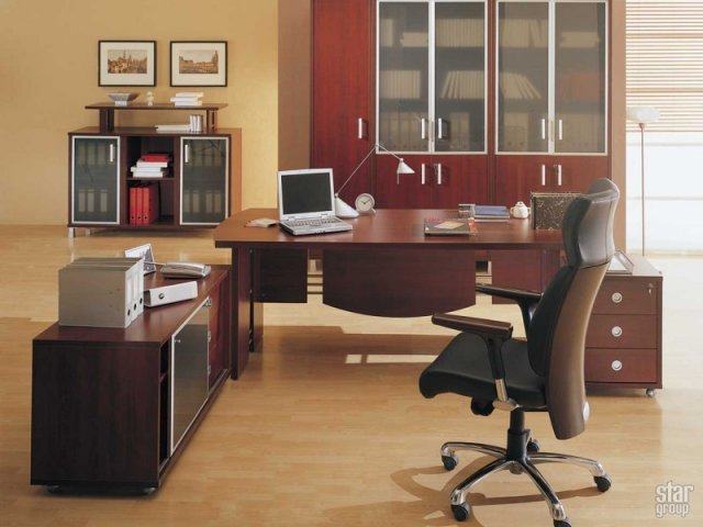 ламинат в офис